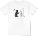 """Don't freak out?it's just a save-the-date."" - New Yorker Cartoon T-Shirt by David Sipress"