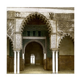 Seville (Spain), the Alcazar, Door of the Room of the Ambassadors Photographic Print by Levy et Fils, Leon