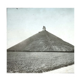 Waterloo (Belgium), the Lion of Waterloo Photographic Print by Levy et Fils, Leon