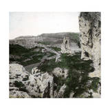 Caltanisetta (Sicily, Italy), the Ruins of the Castle, Circa 1860 Photographic Print by Levy et Fils, Leon