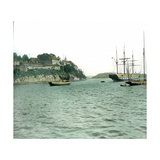 View of the Fortress Taken from the Piperwik (Or Piperoik) Landing Stage Photographic Print by Levy et Fils, Leon