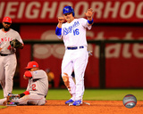 Billy Butler Game 3 of the 2014 American League Divional Series Action Photo