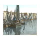 Dieppe (Seine-Maritime, France), View of the Port Photographic Print by Levy et Fils, Leon