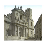 Valldolid (Spain), the Cathedral's Facade Photographic Print by Levy et Fils, Leon