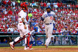 Division Series - Los Angeles Dodgers v St Louis Cardinals - Game Four Photographic Print by Dilip Vishwanat