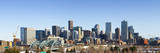 Denver Colorado City Skyline from West Side of Town. Snow Covered Ground Winter. Photographic Print by Ambient Ideas