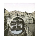 Huy (Belgium), the Former Gate of the City Photographic Print by Levy et Fils, Leon