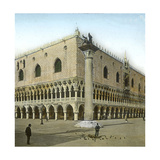 Venice (Italy), the Doge's Palace (Xvth Century), Circa 1890-1895 Photographic Print by Levy et Fils, Leon
