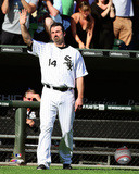 Paul Konerko leaves the field for the last time- September 28, 2014 Photo