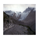 Upper-Alps, France, the Meije and Pie Glaciers, in the Oisans Massif, Circa 1890-1895 Photographic Print by Levy et Fils, Leon