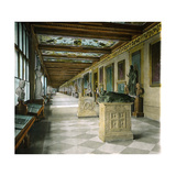 Florence (Italy), Museum, Third Corridor Photographic Print by Levy et Fils, Leon