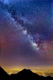 Milky Way Photographic Print by Aaron Kiely