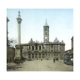 Rome (Italy), Basilica of Santa Maria Maggiore, Circa 1895 Photographic Print by Levy et Fils, Leon