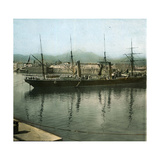 Palermo (Sicily), the Port Photographic Print by Levy et Fils, Leon