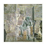 Abydos (Egypt), Sculptures in the Temple Photographic Print by Levy et Fils, Leon