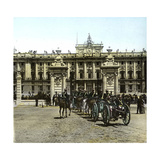 Madrid (Spain), the Entrance to the Chateau Photographic Print by Levy et Fils, Leon