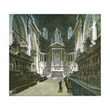 London (England), St Paul's Cathedral, Inside Photographic Print by Levy et Fils, Leon