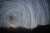 Spinning Stars above Himalayas Photographic Print by Anton Jankovoy