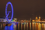 Shooting Star over London Photographic Print by Richard Newstead
