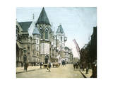 London (England), the Courthouse Photographic Print by Levy et Fils, Leon