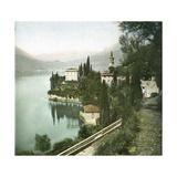 Varenna (Italy), Lake Como Photographic Print by Levy et Fils, Leon