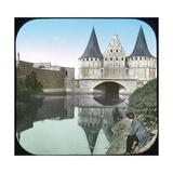 Ghent (Belgium), the Rabot Gate Photographic Print by Levy et Fils, Leon