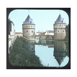 Courtrai (Belgium), Broël Bridge Photographic Print by Levy et Fils, Leon