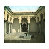 Courtyard in the Kasbah, Tangier (Morocco), Circa 1885 Photographic Print by Levy et Fils, Leon