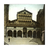 Pistoia (Italy), the Duomo (Cathedral), XIIth Century, Circa 1895 Photographic Print by Levy et Fils, Leon