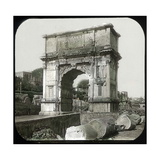 Rome (Italy), Roman Forum, Arch of Titus, Circa 1895 Photographic Print by Levy et Fils, Leon
