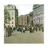 Coronation of King Edward VII of England (1841-1910), Trafalgar Square, London (England), 1901 Photographic Print by Levy et Fils, Leon