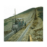 "Funicular ""Etna"", Image, Italy Photographic Print by Levy et Fils, Leon"