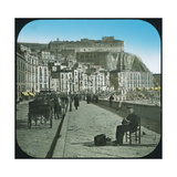 Naples (Italy), the Port of Santa Lucia, Circa 1890 Photographic Print by Levy et Fils, Leon