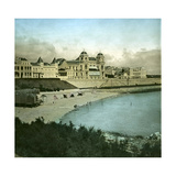 Royan (Charente-Maritime, France), the Casino Seen from the Beach, Circa 1890-1895 Photographic Print by Levy et Fils, Leon