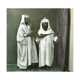 Musicians, Tangier (Morocco), Circa 1885 Photographic Print by Levy et Fils, Leon