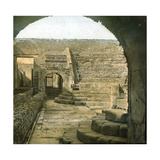 Pompeii (Italy), Inside of the Theatre of the Odeon, Circa 1865 Photographic Print by Levy et Fils, Leon