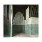 The Throne Room in the Kasbah, Tangier (Morocco), Circa 1885 Photographic Print by Levy et Fils, Leon