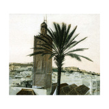 Tangier (Morocco), Circa 1885, Minaret of the Mosque of the Aïssaoua Photographic Print by Levy et Fils, Leon