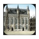 Bruges (Belgium), City Hall Photographic Print by Levy et Fils, Leon