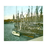 Liverpool (England), St, George's Docks Photographic Print by Levy et Fils, Leon