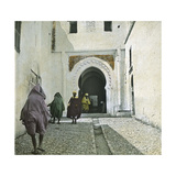 Tangier (Morocco), Entrance to the Kasbah, Circa 1895 Photographic Print by Levy et Fils, Leon