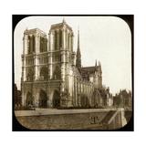 Notre Dame De Paris Cathedral Seen from the Embarkments, Paris Photographic Print by Levy et Fils, Leon