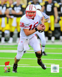 Scott Tolzien University of Wisconsin Badgers 2010 Action Photo