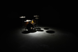 Drum Kit, Elevated View Photographic Print by Thomas Northcut