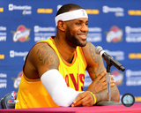 LeBron James 2014 Press Conference Photo