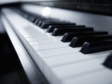 Piano Keyboard. Photographic Print by Adam Gault