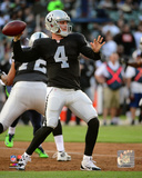 Derek Carr 2014 Action Photo