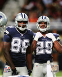 Dez Bryant & DeMarco Murray 2014 Action Photo