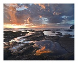 Pelada Beach at sunset, Costa Rica Prints by Tim Fitzharris