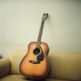 Acoustic Guitar Photographic Print by Jiang D photography